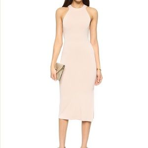 alice+olivia  AIR Lumi Fitted Dress, Pale Nude